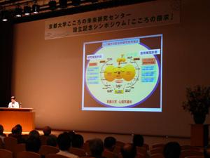 京都大学こころの未来研究センター設立記念シンポジウムを開催しました