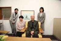 鷲田清一大阪大学総長を囲む座談会を行いました。
