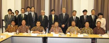 ブータン上院議長一行歓迎懇談会を実施しました