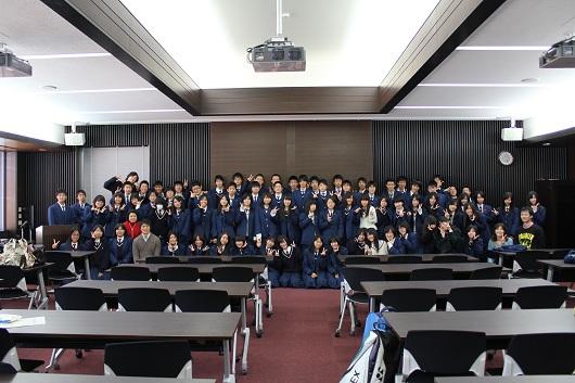 京都府立莵道高校の生徒を対象にセミナーを開催しました