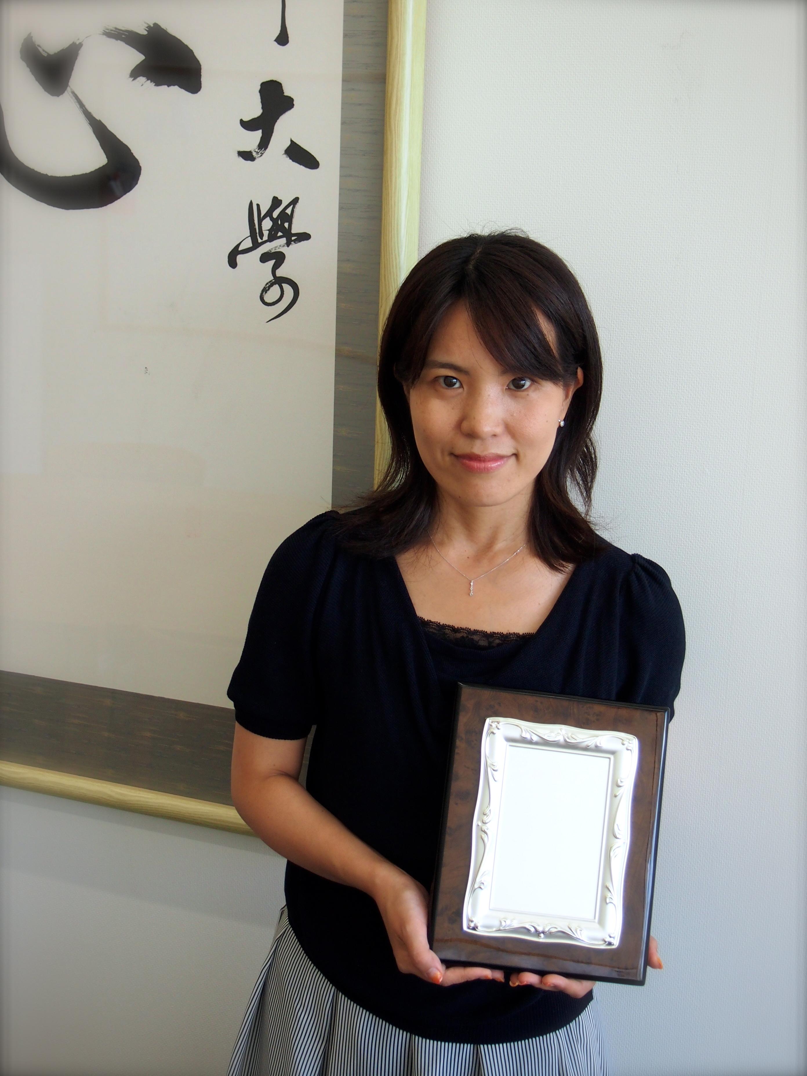 内田准教授が日本計画行政学会賞 論説賞を受賞しました