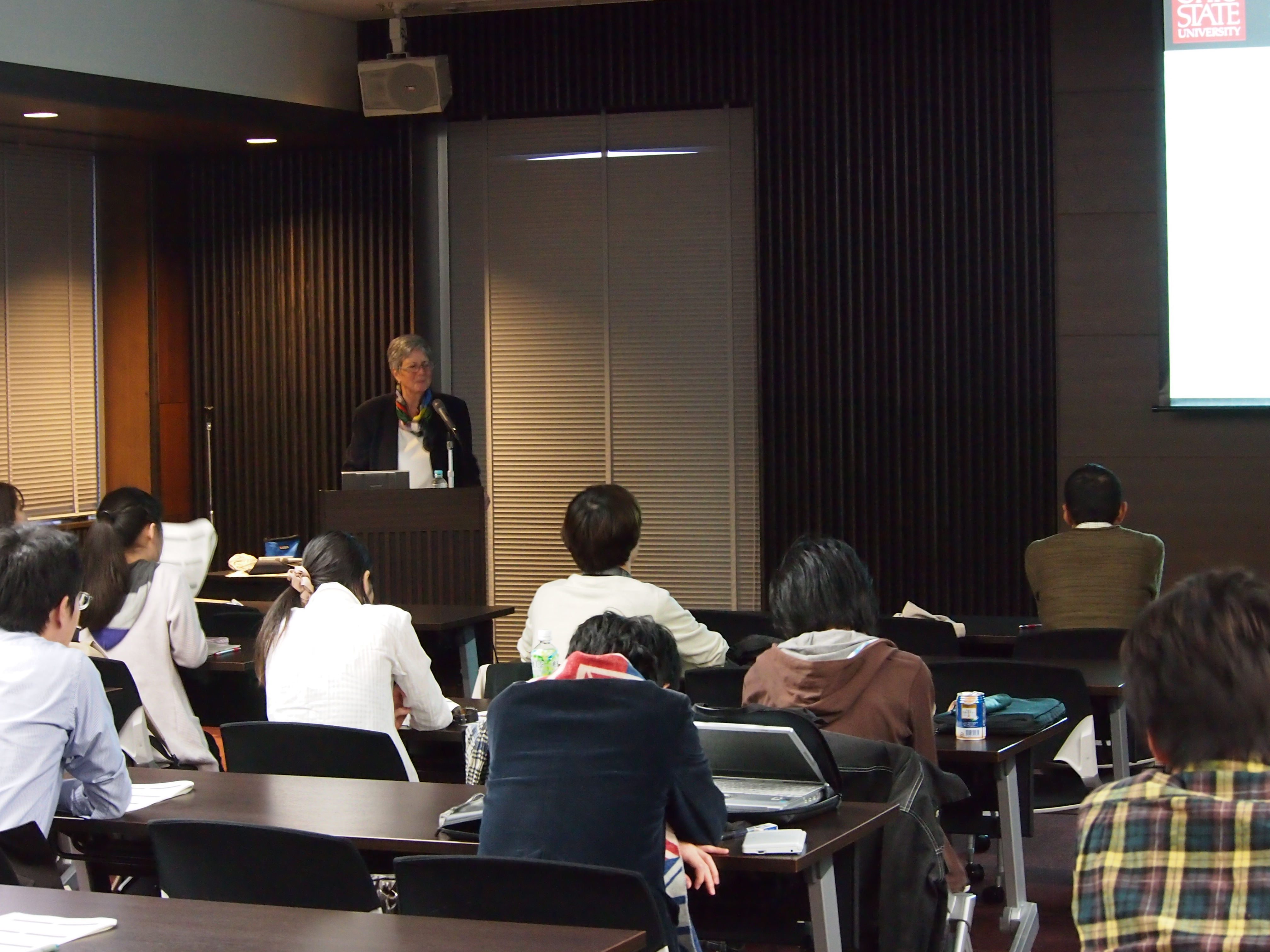 Lecture by Prof. Jeniffer Crocker(Ohio State University) was held on November 1, 2012.