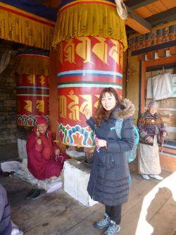 京都大学ブータン友好プログラム第10次ブータン訪問団に千石真理研究員が参加しました