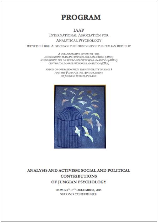 河合教授がローマで開催された「Analysis and Activism: Social and Political Contributions of Jungian Psychology」で発表しました