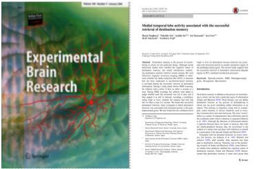 阿部准教授の論文が『Experimental Brain Research』に掲載されました