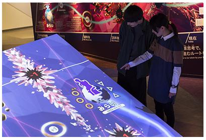 広井教授が監修の一部を担当した日本科学未来館の常設展示がオープンしました