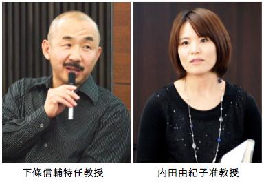 下條特任教授、内田准教授が平成28年度日本心理学会国際賞を受賞しました