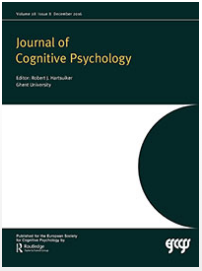 Paper Co-Authored by Prof. Yoshikawa Published in the Journal of Cognitive Psychology