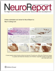 Paper by Dr. Abe et. al. Published in Neuroreport