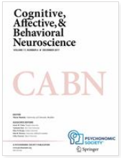 Paper by Dr. Abe, Dr. Yanagisawa et. al. Published in <span>Cognitive, Affective, and Behavioral Neuroscience</i>