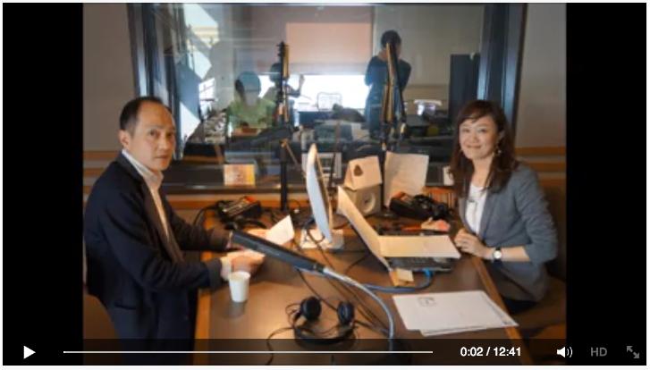 河合教授出演のラジオ番組「Kyoto University Academic Talk」の音声と映像が公開されました