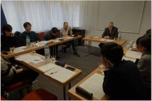 Dr. Giegerich's Dream Analysis Seminarにて河合俊雄教授がコメンテーターを務め、粉川尚枝研究員が口頭発表を行いました