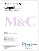 A Paper by Dr. Ueda et al. was Published in <span>Memory & Cognition</span>