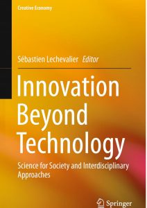 An Article by Professor Yoshinori Hiroi was Included in the English-Language Book Innovation Beyond Technology, Published by Springer