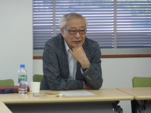 "Kokoro Seminar Series on Thoughts was held by Professor Keishi Saeki, themed on ""Contemplating 'Modern Civilization': Looking Back on the 20th Century"""