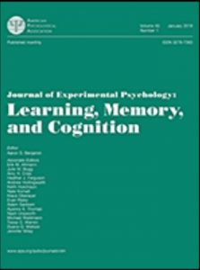 A research paper by Senior Lecturer Yoshiyuki Ueda and colleagues was published in the Journal of Experimental Psychology: Learning, Memory, and Cognition