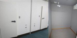連携MRI研究施設内防音室
