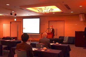 地域企業振興協会研修会にて河合俊雄センター長が講演を行いました