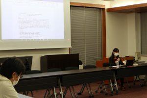 2020年第4回こころ研究会で石井美保准教授が発表を行いました