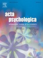 上田祥行特定講師らの研究が国際学術誌『Acta Psychologica』に掲載されました