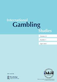 阿部准教授らの論文が『International Gambling Studies』に出版されました
